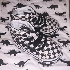 Checker Vans Size 4 Toddler