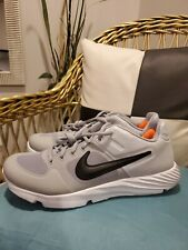 Nike alpha huarache elite 2 baseball turf shoes mens size 5.5 grey aj6877-002