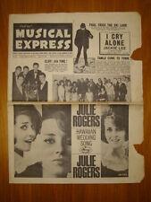 NME #949 1965 MAR 19 BEATLES FILM CLIFF JULIE ROGERS