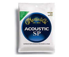 MARTIN SP MSP3000 Acoustic Guitar Strings 010-047 Muta Corde - 2 pezzi