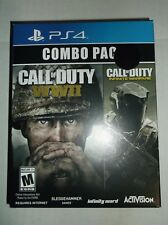 Call of Duty WWII & Infinite Warfare COMBO PACK PS4 Playstation 4 WW2 BRAND NEW