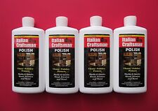 Granite and Marble Polish Italian Craftsman Polish 4-16 OZ Bottles FREE SHIPPING
