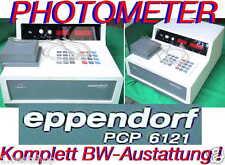 EPPENDORF PHOTOMETER PCP 6121 SPEKTRALPHOTOMETER FOTOMETER SPECTROMETER SPECTRAL