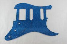 Blue Glitter HSS pickguard Fits Fender Strat Stratocaster