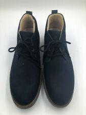 """Samuel Hubbard Men's 14M """"Re-Boot"""" Boots Navy Nubuck 853-01"""