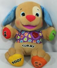 Fisher Price Laugh & Learn Smart Stages Puppy Dog Plush Interactive ~ Working