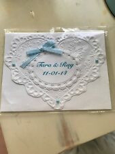 Wedding Card Personalized All Colors Available Handmade