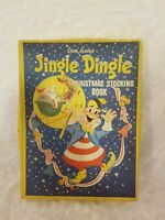 Vintage Children's Book - Jingle Dingle Christmas Stocking Book Pub. 1953