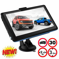 "2016! HD 7"" inch Car GPS Navigation Navigator 4GB FM Touch Screen Free US Map"