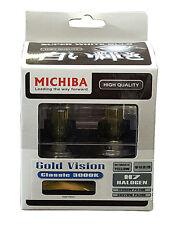 Michiba H7 12V 55W 3000K GOLD Vision LAMPADINE (giallo)