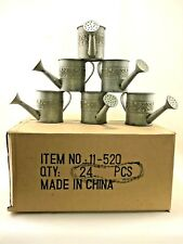 Salem Collection - Lot of 24 - Tin Watering Can - 2 3/4 inches high - (24-pcs)