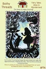 BOTHY THREADS FAIRY TALES ALICE IN WONDERLAND COUNTED CROSS STITCH KIT XFT4P
