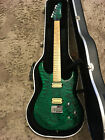 Carvin Bolt Plus Custom Emerald Green Quilt Guitar
