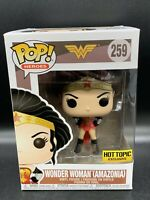 Funko Pop Heroes Wonder Woman Amazonia #259 Hot Topic Exclusive