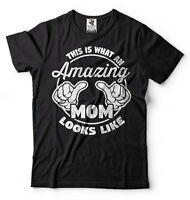 Gift For Mom Amazing Mom T-shirt Gift For Mother Mother's Day Gift