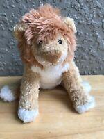 Douglas Doll Lion Beanbag Plush Stuffed Animal Cuddle Toy 8 Inches
