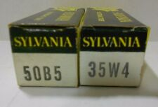 50B5 and 35W4 NOS TUBE LOT #8