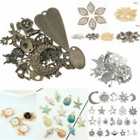 Mixed Styles Vintage Jewelry Making Charms Pendants Assorted Shape DIY Crafts