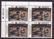 ND12   1993  North Dakota  State Duck Stamp PLATE  DSS