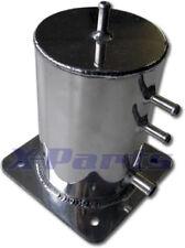 1 Liter Aluminium Catchtank Kraftstofftank 1/4 Meile Turbo Benzintank poliert