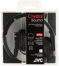 JVC Kenwood HA-S400-B closed type headphone foldable Black Japan Free shipping