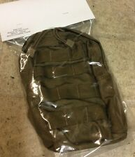NEW SPECTER MOD. MILITARY ISSUE COYOTE BROWN ZIPPERED UTILITY POUCH USGI MOLLE