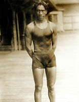 "1910 1915 Duke Kahanamoku Vintage Old Hawaiian Swimmer Photo 8.5"" x 11"" Reprint"