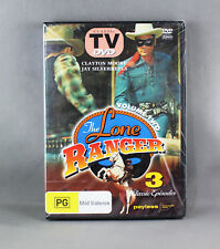 THE LONE RANGER VOL 2 (2011 DVD) 3 CLASSIC EPISODES NEW/SEALED (CLASSIC TV)