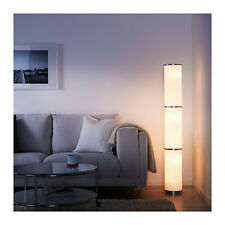 DECORATIVE IKEA VIDJA Floor lamp, white 138 cm