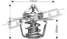 DAYCO Thermostat for VOLKSWAGEN VW GOLF MK4 MK5 1.6L 1.8L 2.0L PETROL DIESEL