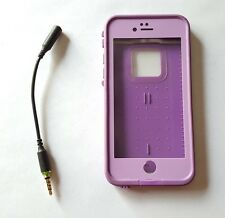 """Lifeproof Fre Waterproof 4.7"""" Case For iPhone 6/6S PUMPED PURPLE - with Adapter"""
