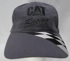 WARD BURTON CAT RACING HAT CAP Gray NASCAR #22 SnapBack Adjustable Buttons