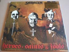 Saracen  - Heroes Saints & Fools Vinyl LP Limited Edition Numbered Red