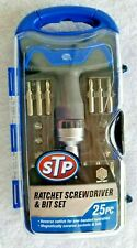 STP Ratchet Driver Socket and Bit Set 25 Pieces Brand New Factory Sealed