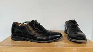 Loake L1 Workwear - 200b Last 3625 - Men's Black Leather Capped Oxford Shoes - 9