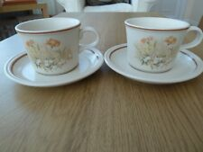 Marks & Spencer Field Flowers 2 x Cups & 2 x Saucers