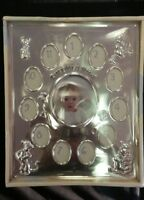 Disney Baby My First Year Silver Winnie The Pooh Picture Frame First 12 Months