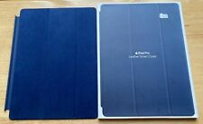 Original Apple Leather Smart Cover for iPad Pro 12.9 (2nd Gen) - Midnight Blue