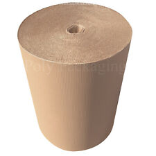 More details for 750mm wide corrugated cardboard paper rolls postal packaging wrapping parcels