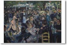 Renoir - Dance at Le Moulin de la Galette 1876 - NEW French Art Print POSTER