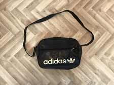 Genuine Adidas Airliner Messenger Black Travel Bag