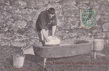 LAGUIOLE 414 fabrication du fromage éd rodez timbrée 1904