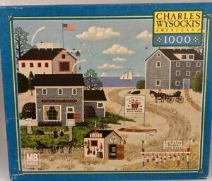 Charles Wysocki's Americana 1000 Puzzle 'Nantucket Breeze' ~ 2003
