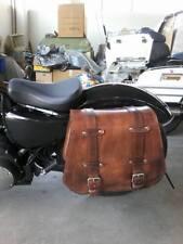 Per SPORTSTER Harley Davidson mono borsa in cuoio per moto custom con incassi mo
