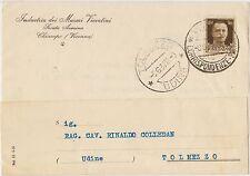 CHIAMPO - INDUSTRIA DEI MARMI VICENTINI (VICENZA) X TOLMEZZO 1937