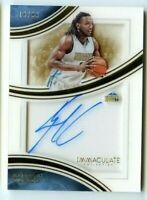 KENNETH FARIED 2015-16 Panini Immaculate Shadowbox Signatures #SS-KF AUTO #d /99
