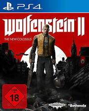 Wolfenstein 2: The New Collossus - WELCOME TO AMERIKA Edition ! -  PS4 (NEU/OVP)