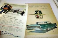 Lincoln 1959 Magazine clippings advertisement Ad Announcing Mark IV Continental