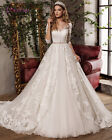 New Wedding Dress Bridal Gown Custom Size 6-8-10-12-14-16-18+