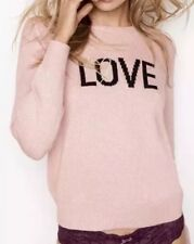 VICTORIA'S SECRET CASHMERE SWEATER LOVE & HEART NEW PERFECT VALENTINES GIFT